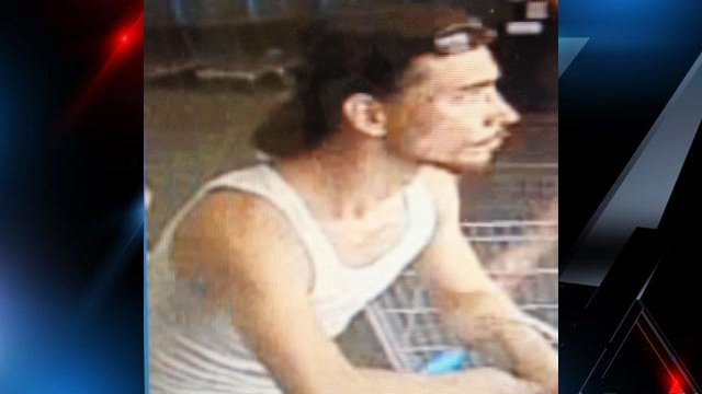 Deputies say this is the man who tried to steal the buggy full of items. (Source: Oconee Co. Sheriff's Office)
