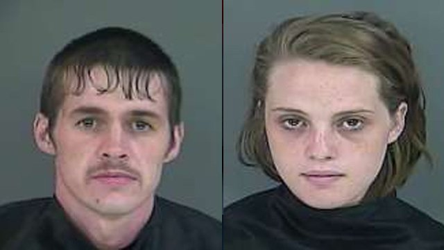 Timothy Fisher (L) and Taylor Kelly. (Source: Anderson Co. Detention Center)