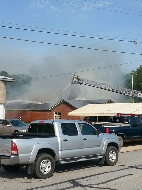 There is no word if there were any injuries in the fire. (Source: Newberry Co. Sheriff's Office)