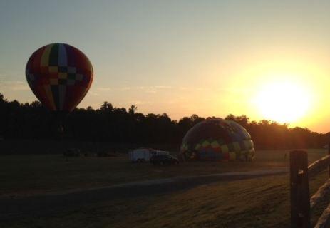 Balloons launch Friday morning (FOX Carolina)