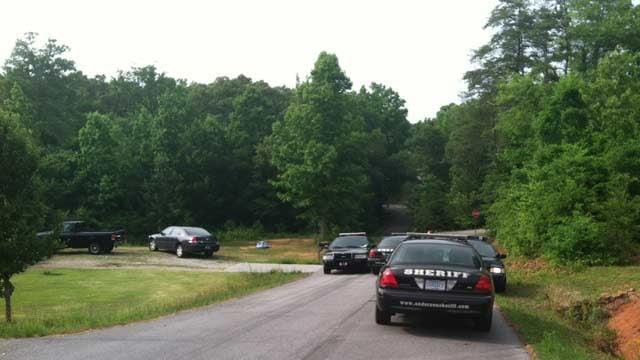 Deputies located the stolen truck in Piedmont. (May 27, 2014/FOX Carolina)