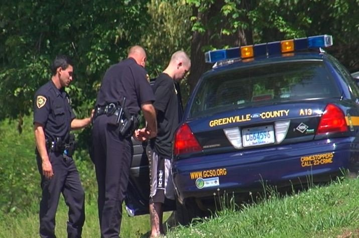 Deputies said Anderson was taken into custody and faces multiple charges. (May 30, 2014/FOX Carolina)