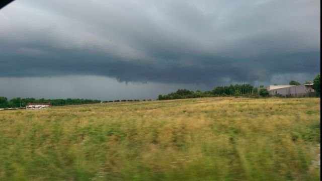 Stormy view in Greenville, from Sarah Eskew