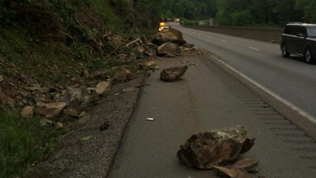 The lane is expected to be closed until Monday, June 2. (Source: NCDOT)