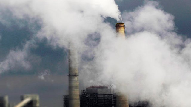 A coal-fired power plant. (File/Associated Press)