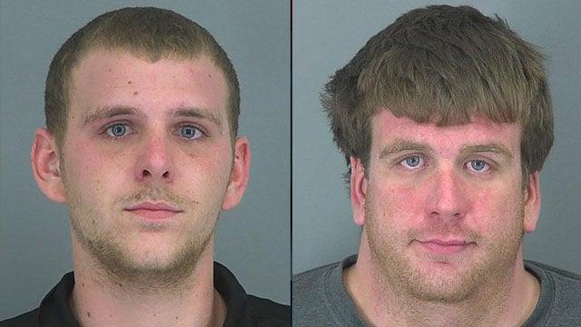 Christopher Ledford and Kyle Ledford (Source: Spartanburg Co. Detention Center)