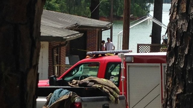 Fire officials said a car crashed into a building at the campground on Whitehall Road. (June 5, 2014/FOX Carolina)