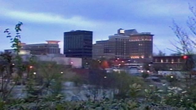 Skyline of downtown Greenville. (File/FOX Carolina)