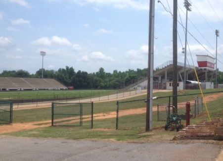 Boiling Springs High School stadium (FOX Carolina)