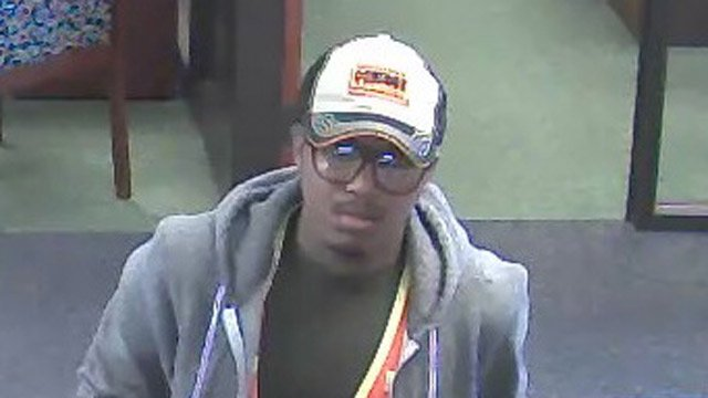 Police say this man robbed the TD Bank on Tuesday. (Source: Anderson Police Dept.)