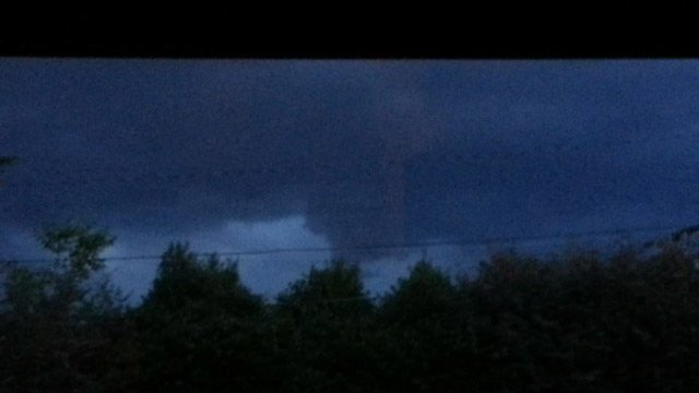 A FOX Carolina viewer sent in this picture of the cloud in Simpsonville. (Source: iWitness Stacey)