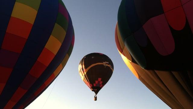 Hot air balloons fly at Aloft. (File/FOX Carolina)