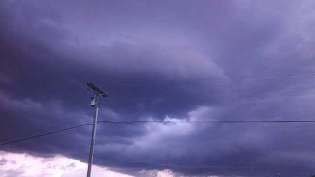 Clouds in Powdersville (Courtesy of Ryan Gerard)