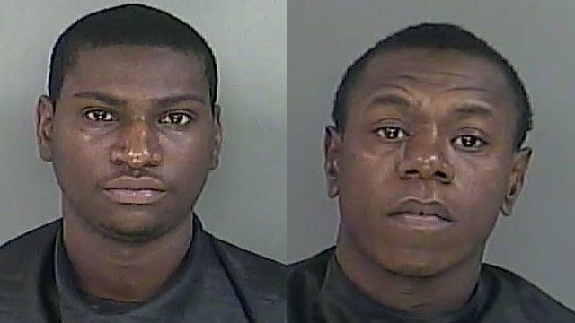 Royres Patterson and Terrance Mandrell West (Source: Anderson Co. Sheriff's Office)