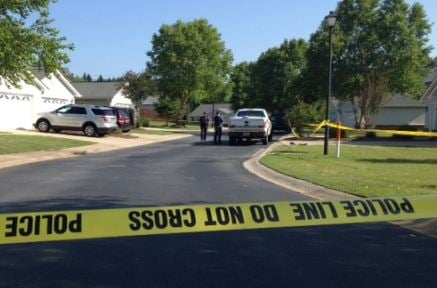 Greer Police investigate stabbing in River Birch Villas. (June 14, 2014/FOX Carolina)