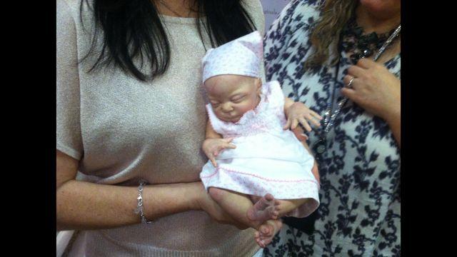 A doll at the International Doll Show (FOX Carolina)