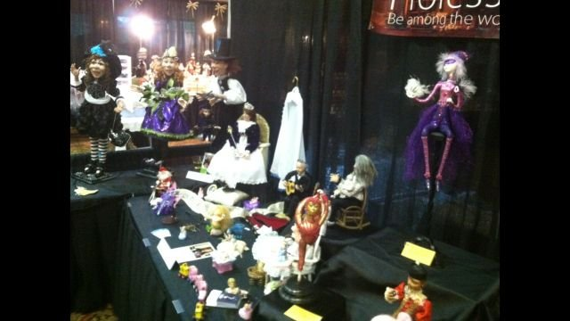A collection of dolls at the International Doll Show (FOX Carolina)