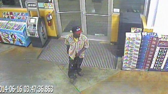Police released surveillance of the suspect in the robbery. (Source: Spartanburg PD)