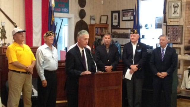 Rep. Trey Gowdy addresses changes to VA legislation. (June 16, 2014/FOX Carolina)