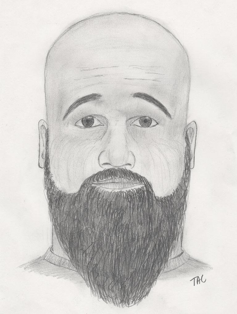 The sheriff's office released this sketch of the suspect in the Townville flashing. (Source: Anderson Co. Sheriff's Office)