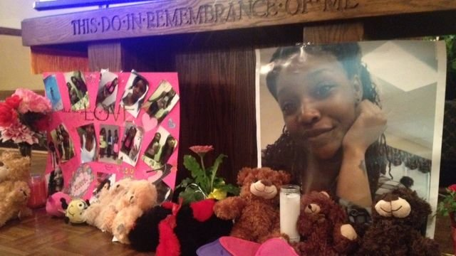 Friends and family remember Shykeria Watts. (June 18, 2014/FOX Carolina)