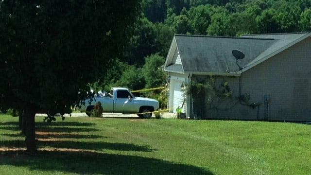 Deputies respond to stabbing Lyman. (June 20, 2014/FOX Carolina)