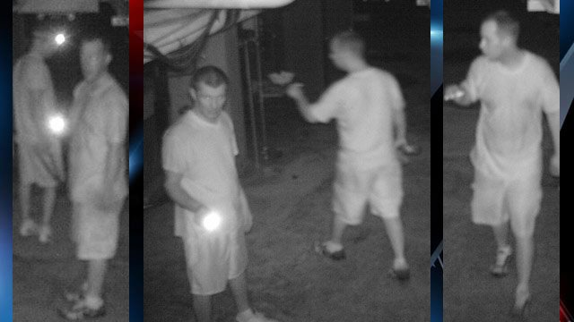 Greer police are asking for help identifying these two men. (Source: Greer PD)