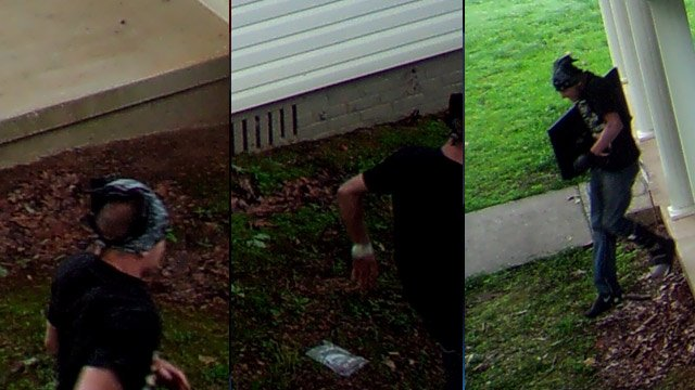 Deputies say this is one of the burglary suspects. (Source: Pickens Co. Sheriff's Office)