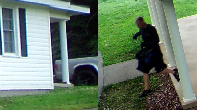 Deputies say this is one of the burglary suspects and their truck. (Source: Pickens Co. Sheriff's Office)