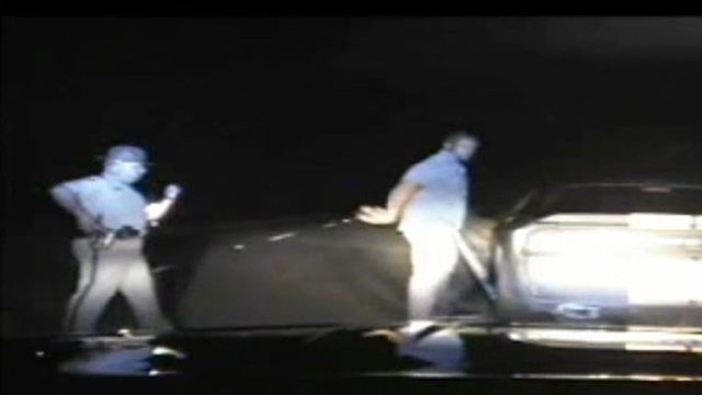 Video shows Montgomery being arrested in Laurens Co. (Source: South Carolina Highway Patrol)