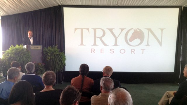 Officials announce plans for Tryon Resort. (June 25, 2014/FOX Carolina)