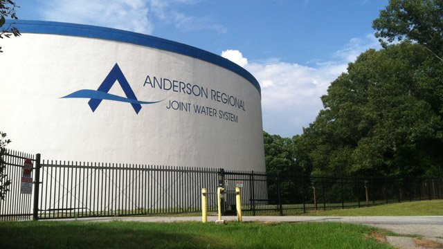 The Anderson Regional Joint Water System. (June 24, 2014/FOX Carolina)