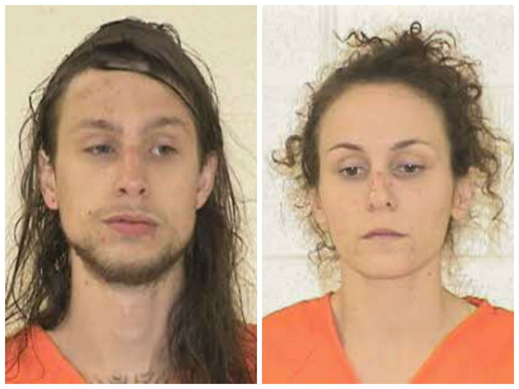 Jackson Young (left) and Whitney Jones (Courtesy: Yancey Co. Sheriff's Office)