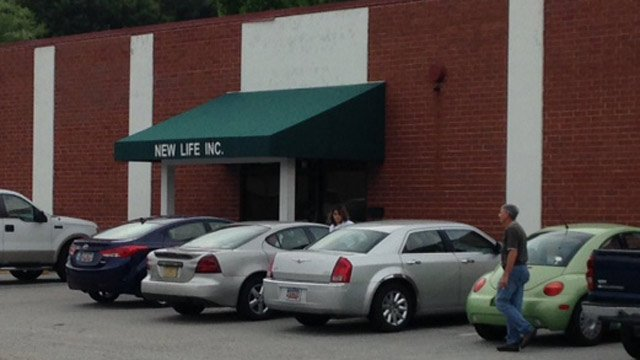 New Life chemicals, where the fire started. (June 27, 2014/FOX Carolina)