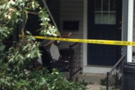 Tree crashes into house in Columbus, NC (FOX Carolina)