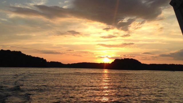 Candi at Lake Hartwell Thursday