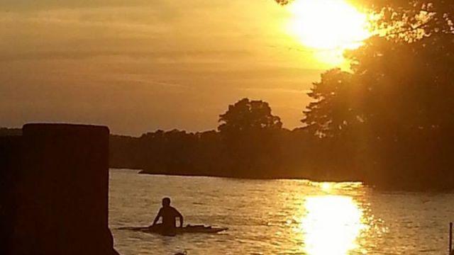 From Tripp Cromer at Lake Murray