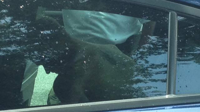 Police take Kyle Hand into custody in Easley. (July 8, 2014/FOX Carolina)