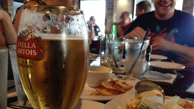 Alcohol is served at a Greenville County restaurant. (July 8, 2014/FOX Carolina)