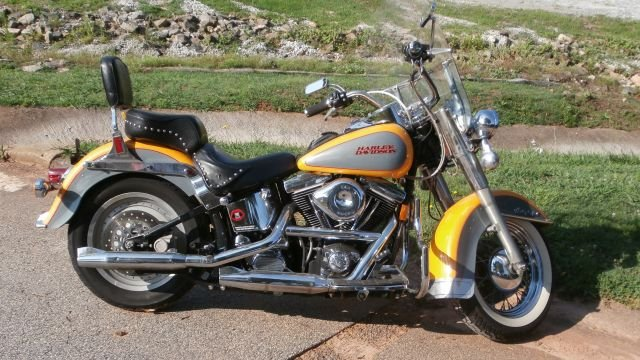 1996 Harley Davidson Heritage Softail (Courtesy: Oconee Co. Sheriff's Office)