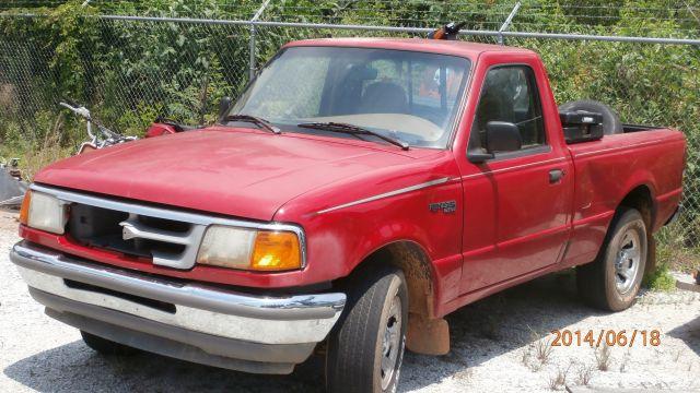 1996 Red Ford Ranger (Courtesy: Oconee Co. Sheriff's Office)