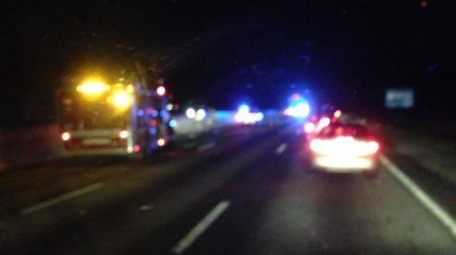 Crash on I-85 at MM 62 (FOX Carolina)