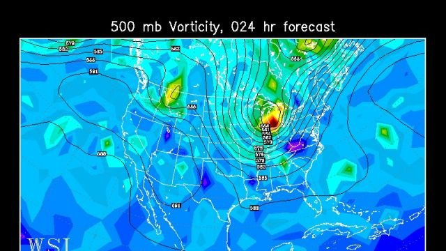 Jet stream dips south this week, bringing cooler weather