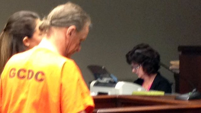 Roger Owens appears in court on Tuesday. (July 15, 2014/FOX Carolina)