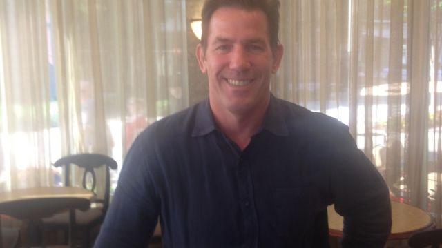Former SC treasurer Thomas Ravenel visits Greenville. (July 4, 2014/FOX Carolina)