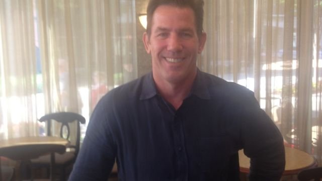 Former SC treasurer Thomas Ravenel visits Greenville. (July 4, 2014/FOX Carolina)