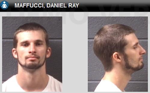 Police say Daniel Maffucci has turned himself in. (Courtesy: Asheville Police)