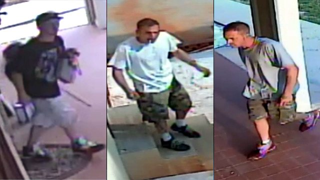 Deputies say they are looking for these men. (Source: McDowell Co. Sheriff's Office)