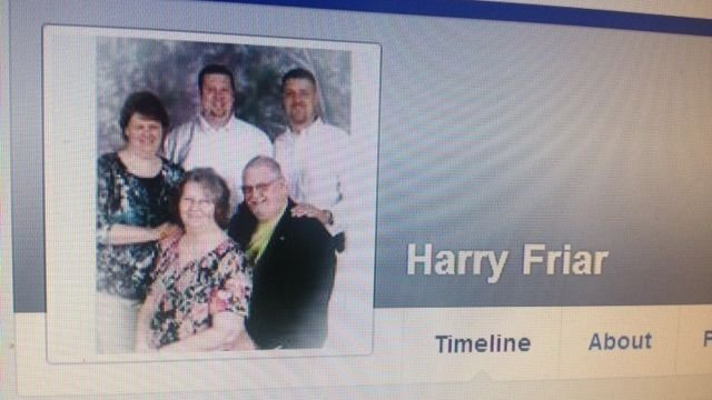 Harry Friar's Facebook profile. (Source: Facebook)