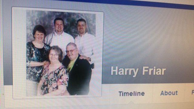 Harry Friar's Facebook profile. (Source: Facebook)